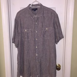 3/$20 Men's Cremieux 100% Linen Shirt